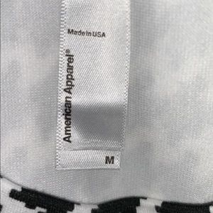 American Apparel Other - American apparel black and white long sleeve shirt